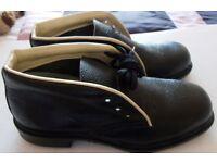 BATA INDUSTRIAL MENS STEEL CAPPED WORK SHOES SIZE 8 / 42 UNWORN