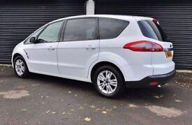 2014 FORD S-MAX ZETEC 1.6 TDCI 7 SEATER NOT VW TOURAN SHARAN GALAXY ALHAMBRA QASHQAI ZAFIRA Q7