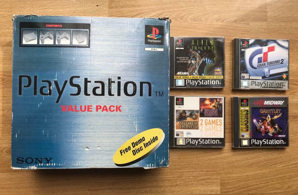 PlayStation 1 boxed console and games  Ps1 | in Didcot, Oxfordshire |  Gumtree