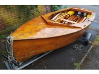 GP14 sailing dinghy