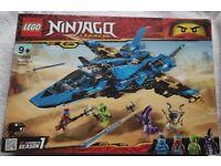 BNIB Ninjago LEGO 70668 Jay's Storm Fighter Set