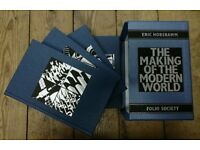 Folio Society The Making of The Modern World By Eric Hobsawm 2005 4 books