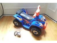 Evo ATV Quad Bike Electric Ride-On. Electric children's bicycle. Brand NEW Battery.