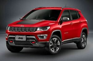 2017 Jeep Compass Trailhawk|4x4|Backup Cam|Bluetooth|R-Start|Lea