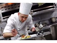 CHEF'S WANTED! Apply today