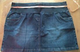 Maternity skirt & jeans