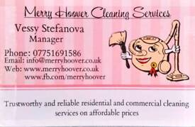 Cleaning Services -Regular domestic End of tenancy One off Office Restaurants Pubs Carpet Oven