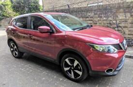 Nissan qashqai 2016 very good condition economic petrol manual Low mileage 14000