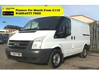 Ford Transit 2.2 260 / Direct From National Company ,Service History, 1YR MOT, Warranty, 90K Miles