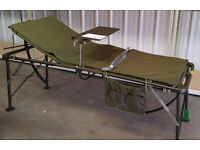 Folding medical MASH camp bed with mattress heavy duty MOD Army 3 available, 1NEW £45 £35 and £30