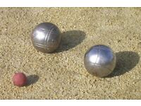 Petanque, or Boules, looking for players....