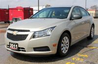 2011 Chevrolet Cruze LS / ONLY 35K! / .AUTO. AC - CERTIFIED