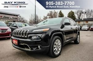 2014 Jeep Cherokee LIMITED 4X4, BACKUP CAM, BLUETOOTH
