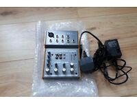 Tapco Mix 50 Mixer - With Adapter