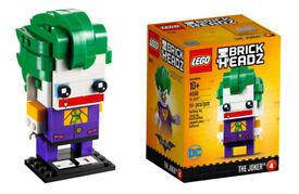 LEGO Brick Headz The Joker (41588) - Batman Movie brickheadz. NEW IN BOX. (Retired set)*