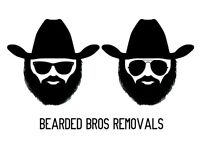 Bearded Bros Removals & Storage - from £25ph - Reliable Efficient Man and Van Service with a Smile