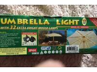 Parasol lights new in box (still for sale )
