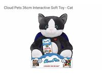 Interactive Cloud Pets Cat, brand new