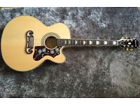 Epiphone ej200ce absolute mint condition