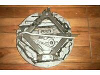 5 Stud Vauxhall Astra Spare Tyre With jack stand