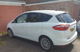 Sold 2014 Ford C-Max 1.6 TDCi Titanium 5 dr Manual White (Reduced to sellasap)