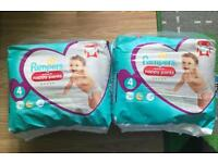 BRAND NEW SEALED Pampers Nappy Pants Size 4