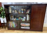 Solid wood TV desk/sideboard/bookshelf