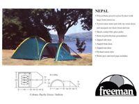 Freeman Nepal 4 Man Dome Tent