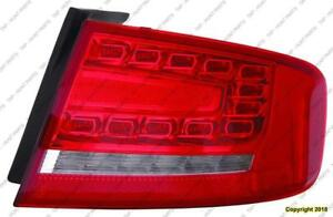 Tail Lamp Passenger Side Led Type Sedan High Quality Audi S4 2009-2012