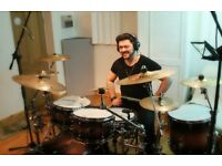 Drum Lessons | Play drums - Professional drummer North London N11
