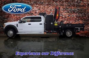 2017 Ford F-550 CHASSIS CAB XLT Crew Cab 4X4 Picker