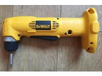 DeWalt battery right angle drill