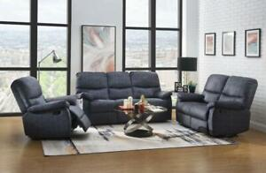 Recliner Sofa + Love Seat + Chair for $1259--New in box with one year warranty