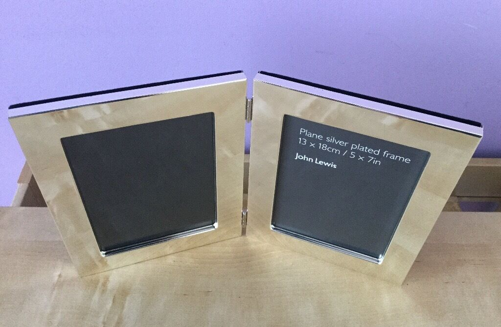 John Lewis Silver Plated Two Photo Frame In Botanic Belfast Gumtree
