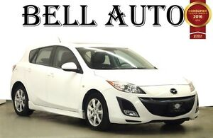 2010 Mazda MAZDA3 SPORT GS LEATHER SUNROOF
