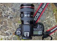 Hire Photography Equipment Canon 5D MARK 3 / Go Pro Hero 3 / EE Live Stream Camera