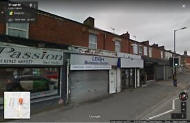 Shop/Retail Property on busy main road (Leigh Road) To Let
