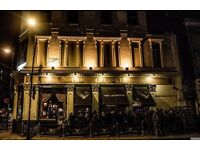Bar Manager for Live Music Venue in Angel, Islington