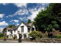 Join our friendly Bar staff & House Keeping team, Ambleside