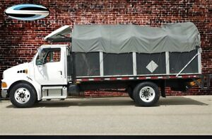 2003 Sterling Acterra Covered Stake Truck