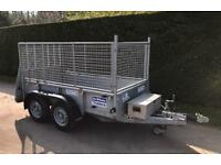 Ifor Williams 8x4 caged sided trailer