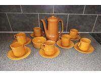 CROWN DUCAL CONCORDE -1970s COFFEE SET