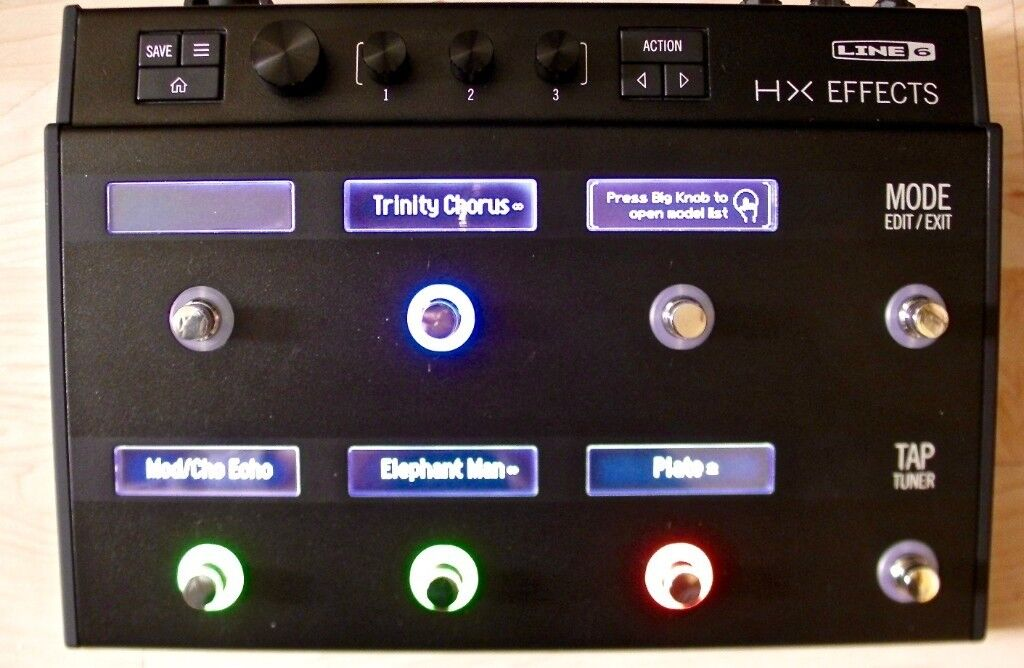 LINE 6 HX EFFECTS MULTI-EFFECTS PEDAL - MINT | in London Colney,  Hertfordshire | Gumtree