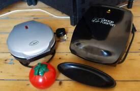 Griller + Omelette Maker + Ketchup Pot