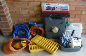 Motor home/ caravan accessories all for only £250. or buy with individual prices