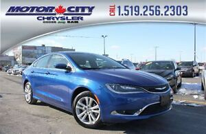 2016 Chrysler 200 Limited Heated Seats Bluetooth and Satellite R