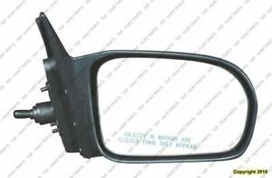 Door Mirror Manual Passenger Side Sedan Honda Civic 2001-2005