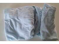 ☆ 2 X vibrant blue fitted baby sheets Moses basket / bassinet ☆