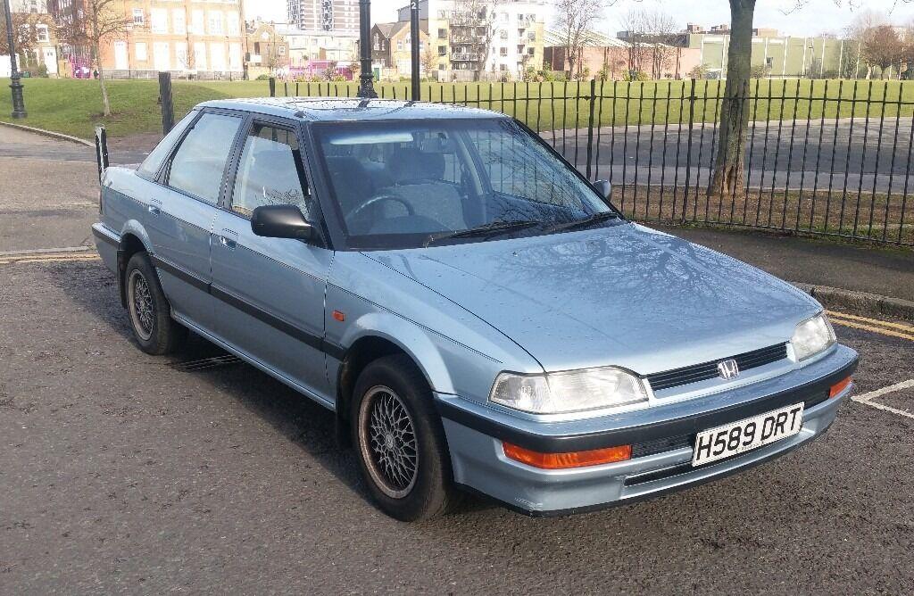 1990 Honda CONCERTO SALOON EX AUTO Classic Car Barn Find Not Civic