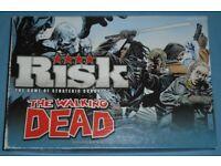 'Walking Dead Risk' Board Game